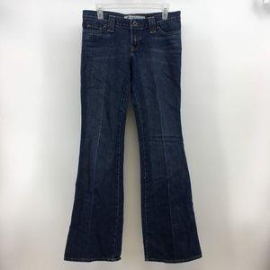 GAP Original Womens Ultra Low Rise Boot Cut Jeans